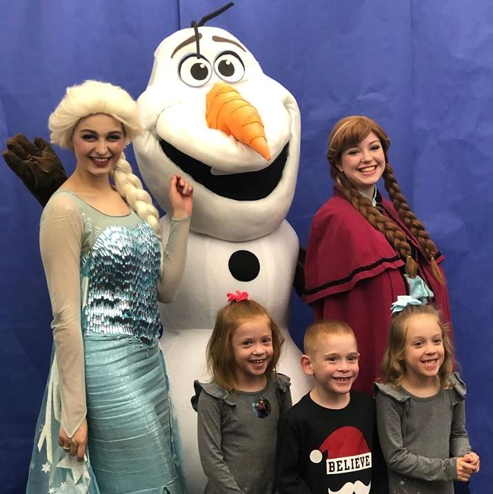 Frozen party photo