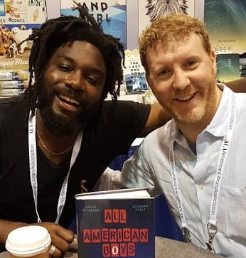 Jason Reynolds and Brandon Kiely photo