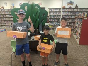 photo of kids at Blanchester Public Library
