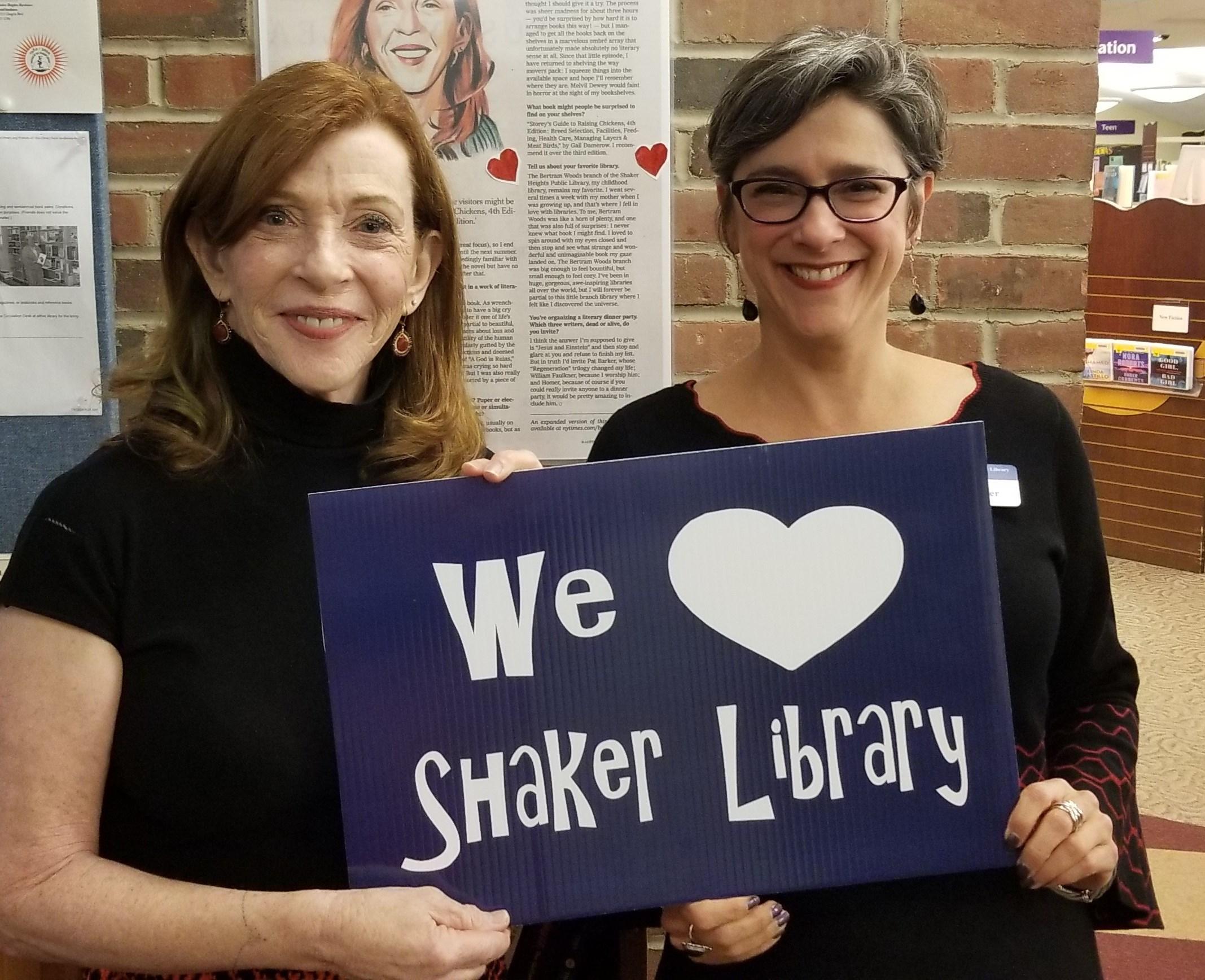 Shaker Hts library photo