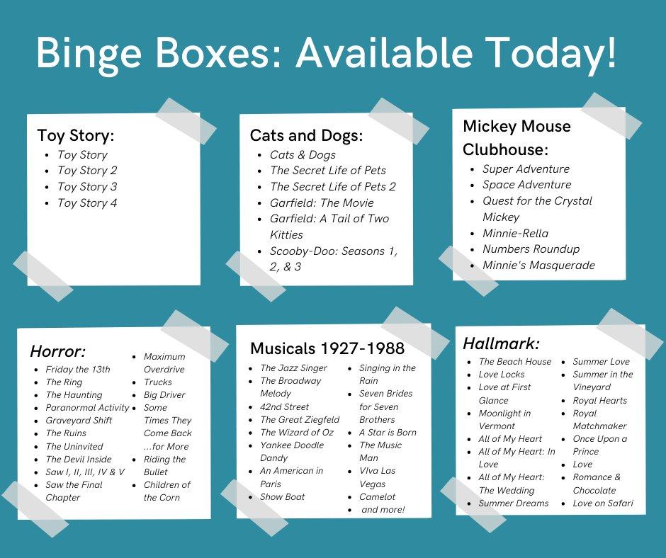 Ashland PL binge boxes photo