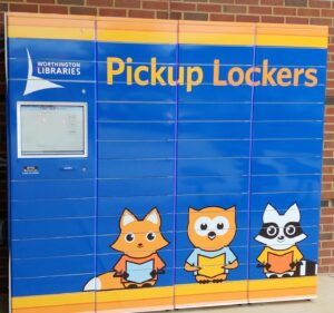 Worthington Libraries pick-up lockers photo