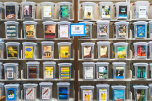 photo of book club boxes